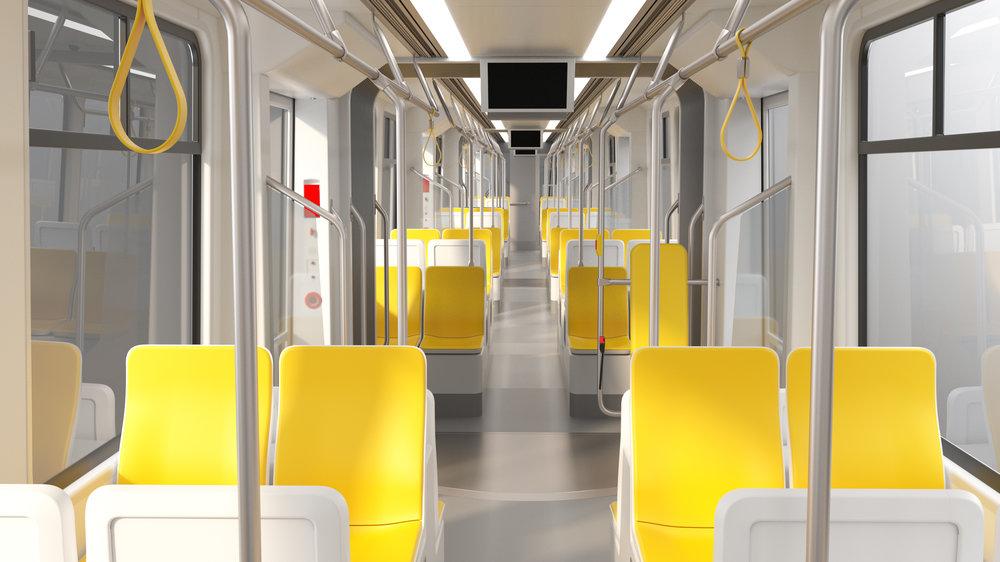 Pohled do interiéru vozu. (foto: Škoda Transportation)