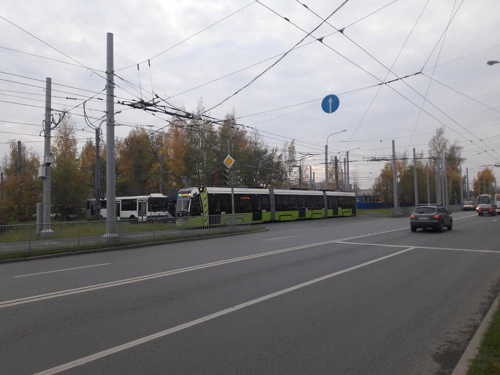 Tramvaj jede odpočívat.