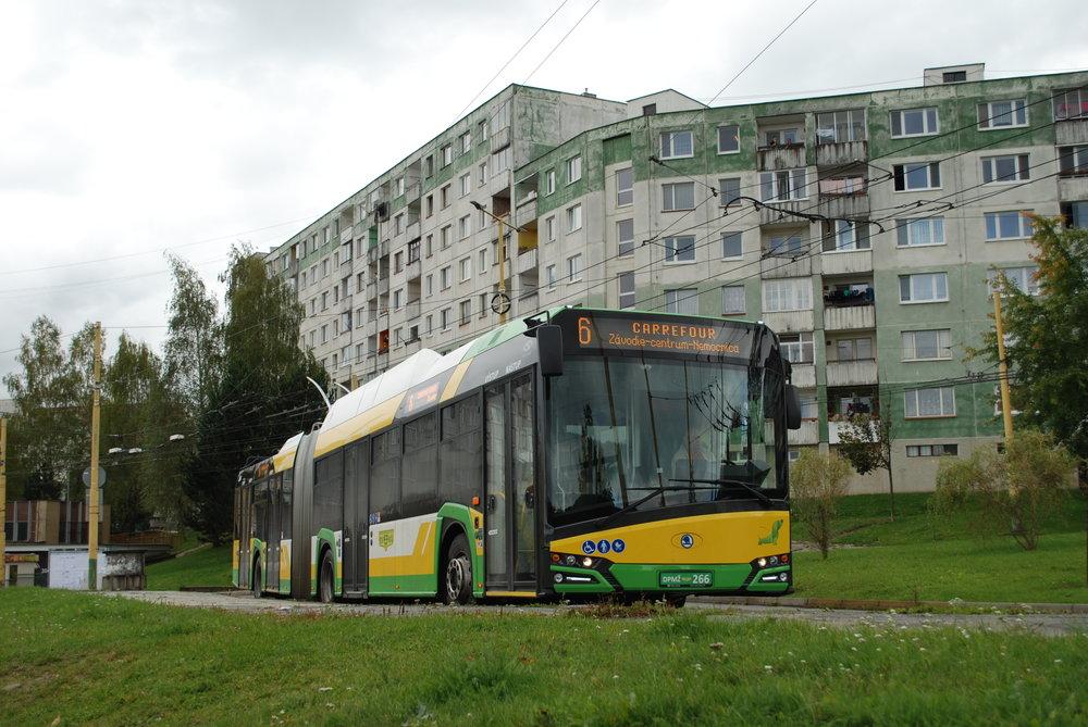 Trolejbus Škoda 27 Tr v Žilině. (foto: Libor Hinčica