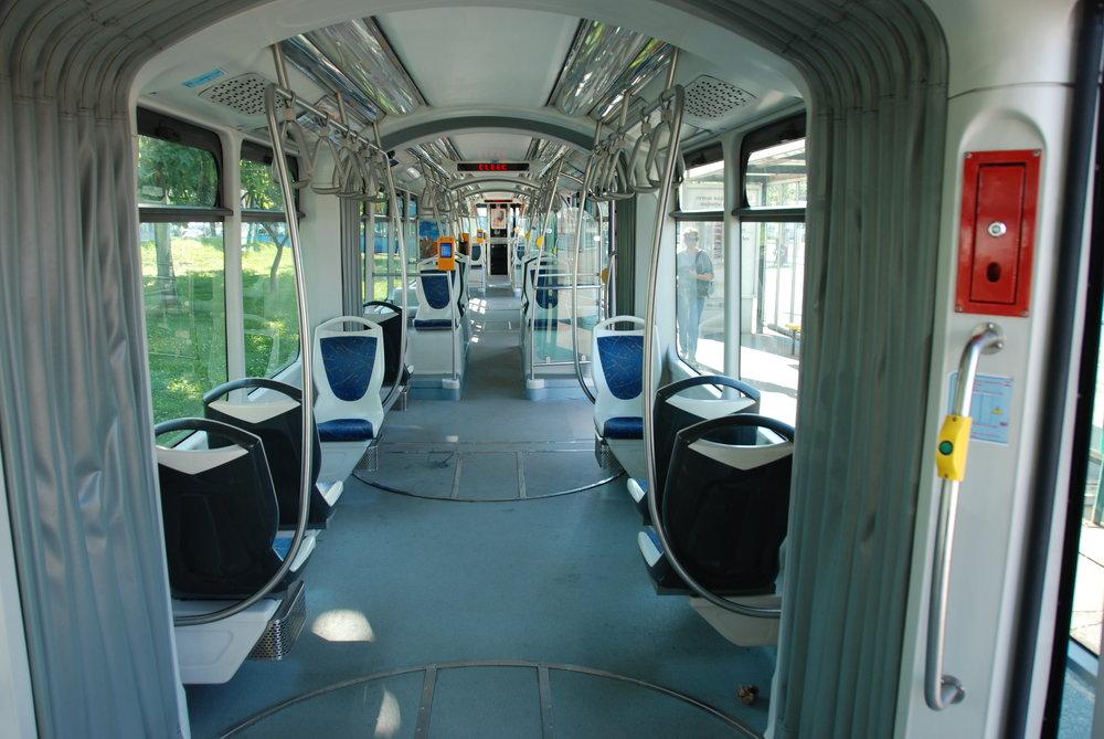 Pohled do salónu cestujících. (foto: Libor Hinčica)