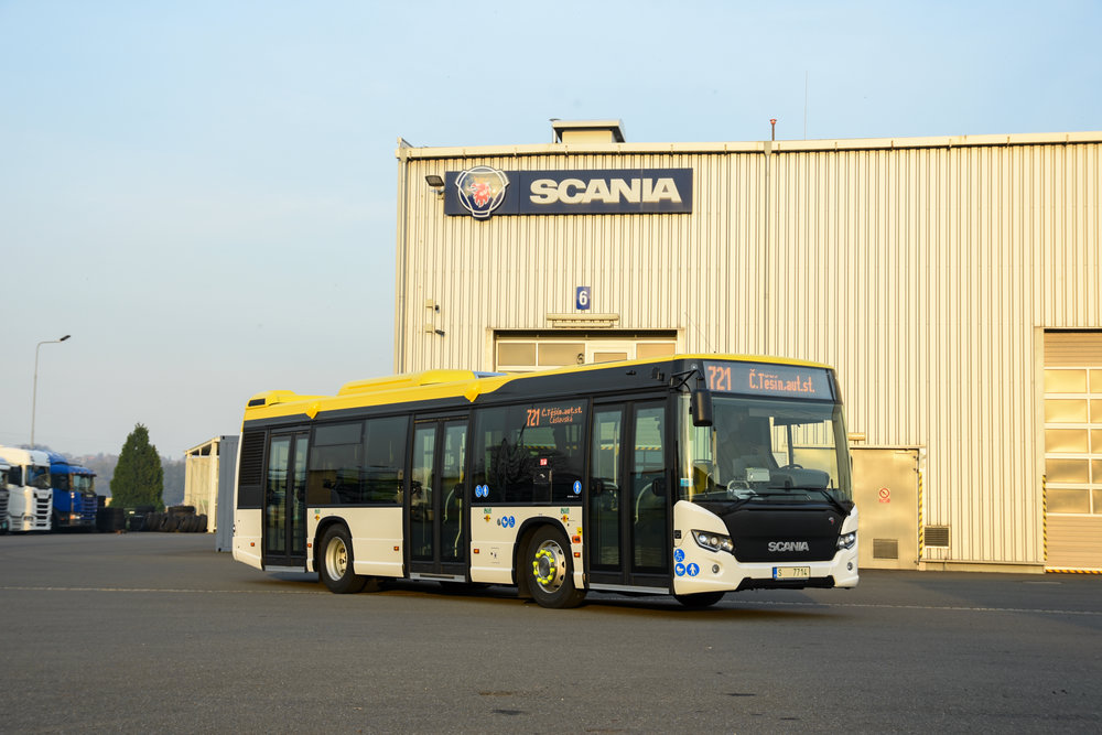 Autobus Scania Citywide LF pro Český Těšín. (foto: Scania)