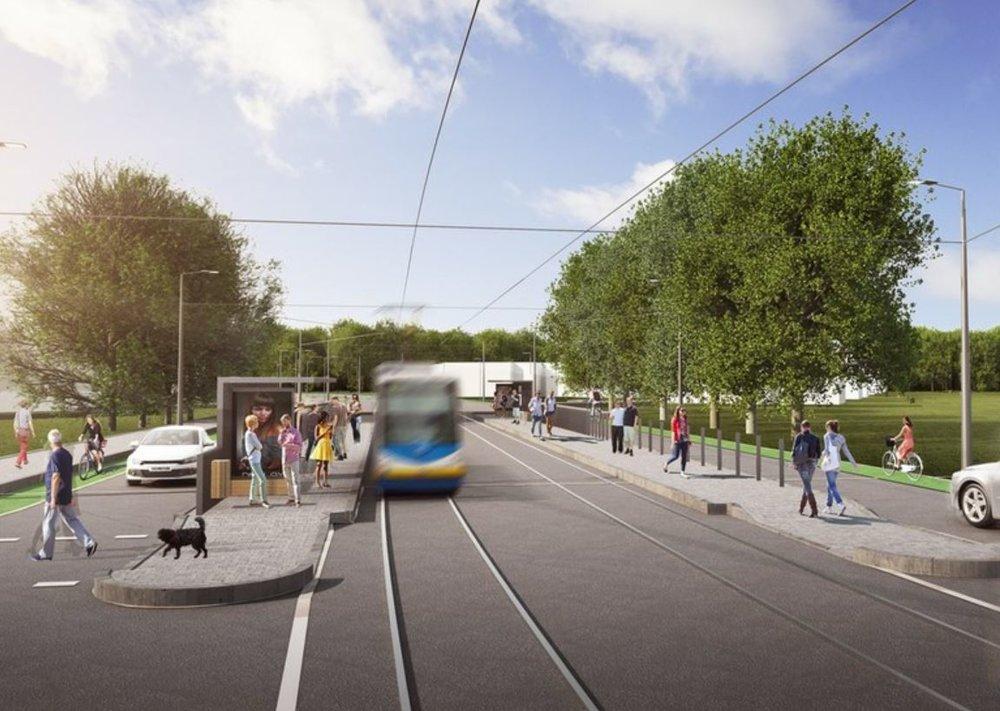 Dle průzkumu se potvrdily např. obavy z výstavby i kvality provedení celé trati. (zdroj: město Ostrava)