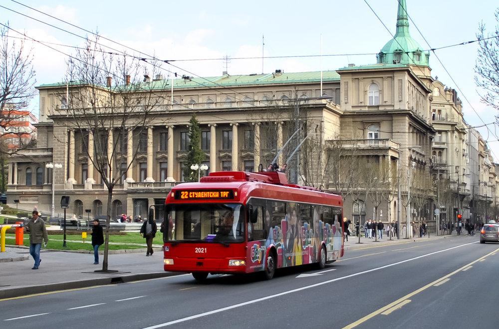 Přežijí trolejbusy v Bělehradě další snahu o likvidaci? (zdroj: Wikipedia.org)