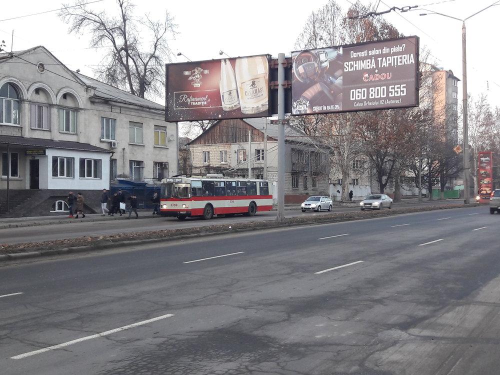 Ještě jednou ulice Calea Orheiului, tentokrát ale ve své severovýchodnější části.