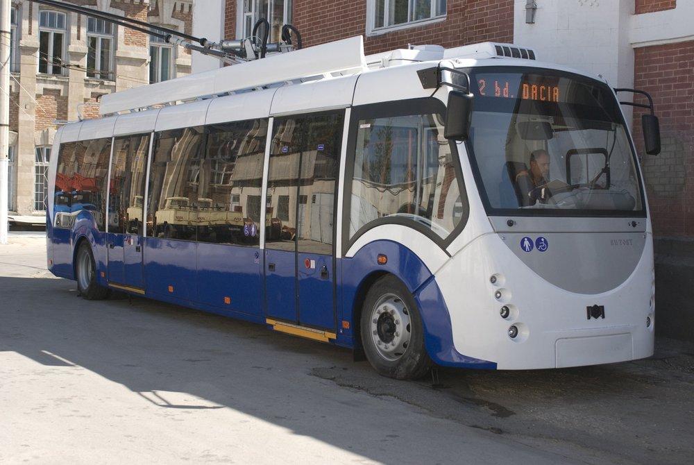 V roce 2014 byl vyroben 1 ks typu RTEC 624201M1. Je podobný běloruskému trolejbusu Vitovt. (foto: RTEC)