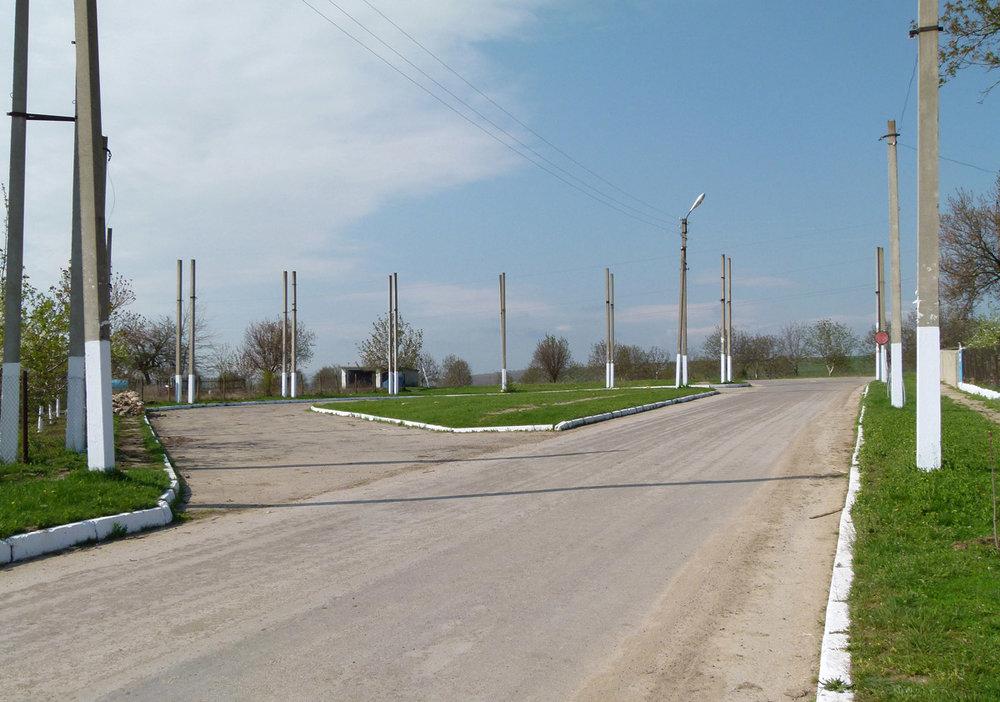 Ostatky na jižním konci Solonceni z května roku 2011.
