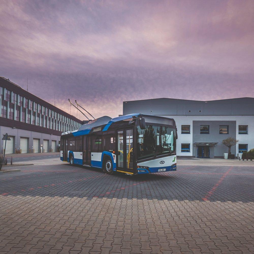 Ilustrační foto: trolejbus Solaris Trollino 12. (foto: Solaris Bus & Coach)