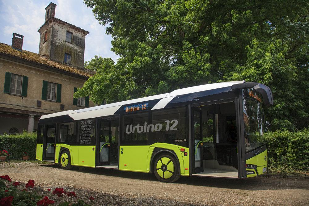 Autobus Solaris Urbino 12 na propagačním snímku výrobce. (foto: Solaris Bus & Coach)