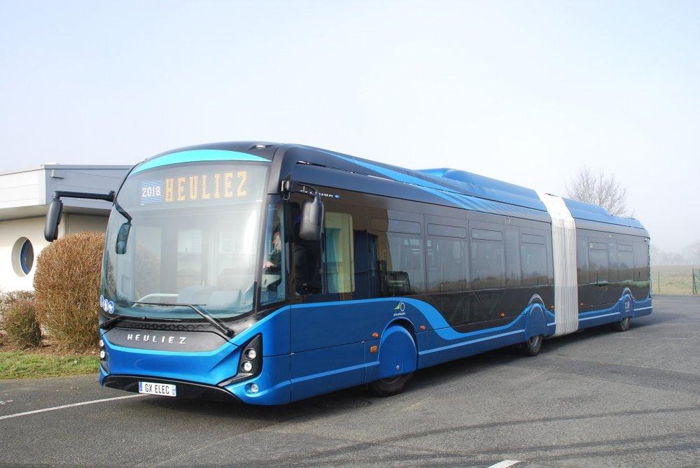 Elektrobus Heuliez Bus GX 437. (foto: Heuliez Bus)