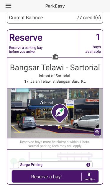Sartorial Reservation