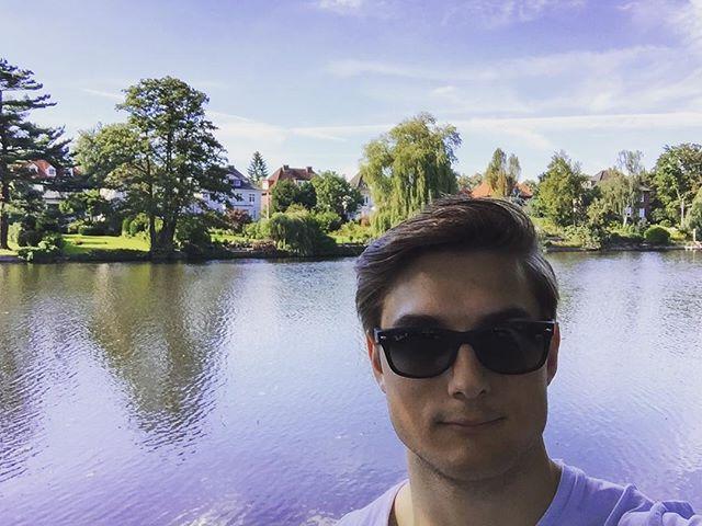 Wer hätte gedacht, dass wir doch noch ein wenig Sommer in Hamburg haben. 😎