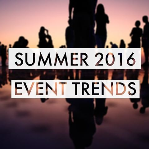 This week's blog is all about this summer's biggest trends! Check it out by clicking the link in the description bar!  #eventprofs #eventdesigner #trends #2016 #summer #irish #Dublin #events