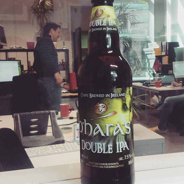 More Friday treats from el capitano @oharasbeers  #friyay #tgif #lightrefreshments