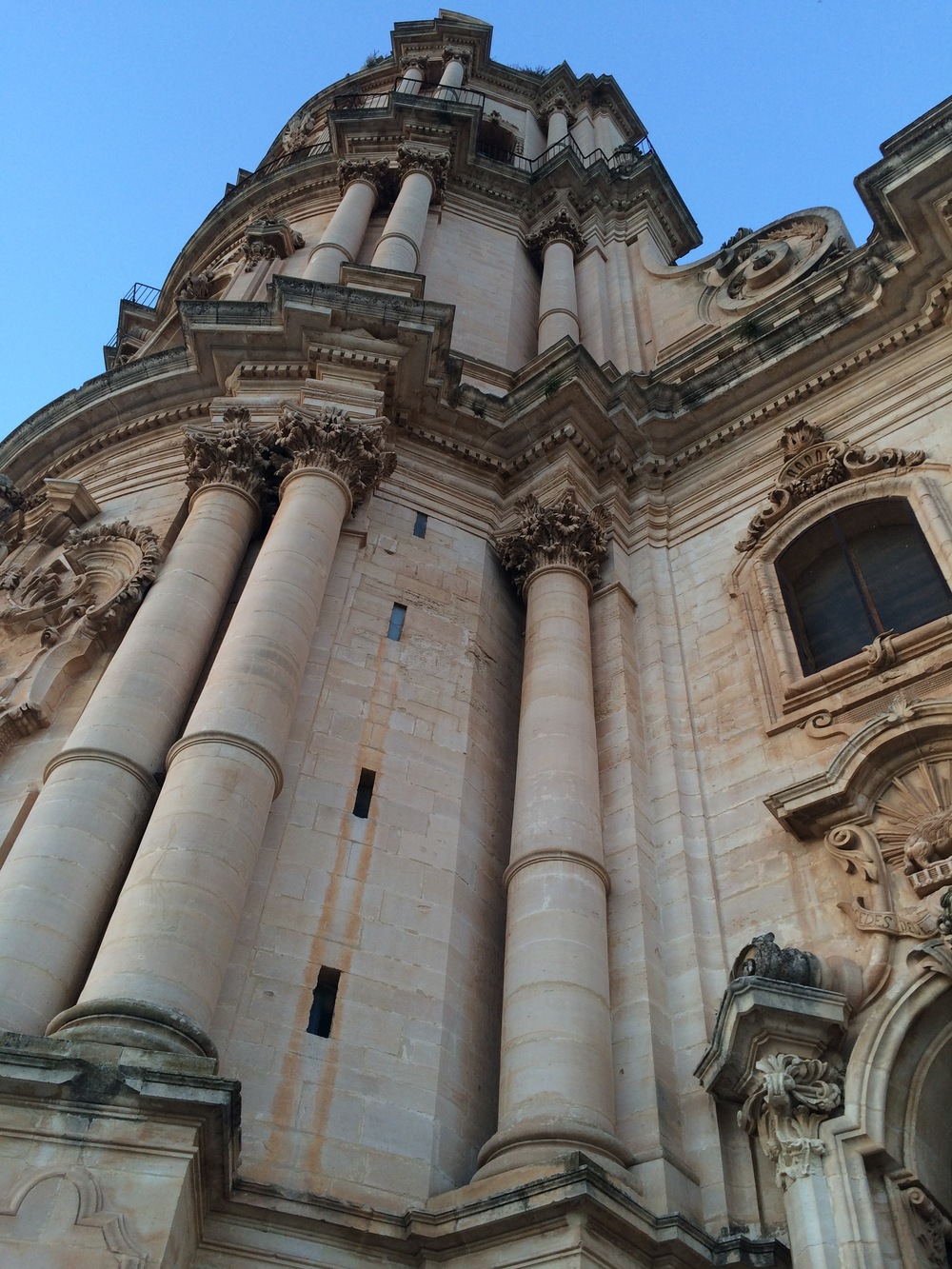 A taste of the voluptuous curves of San Giorgio in Modica