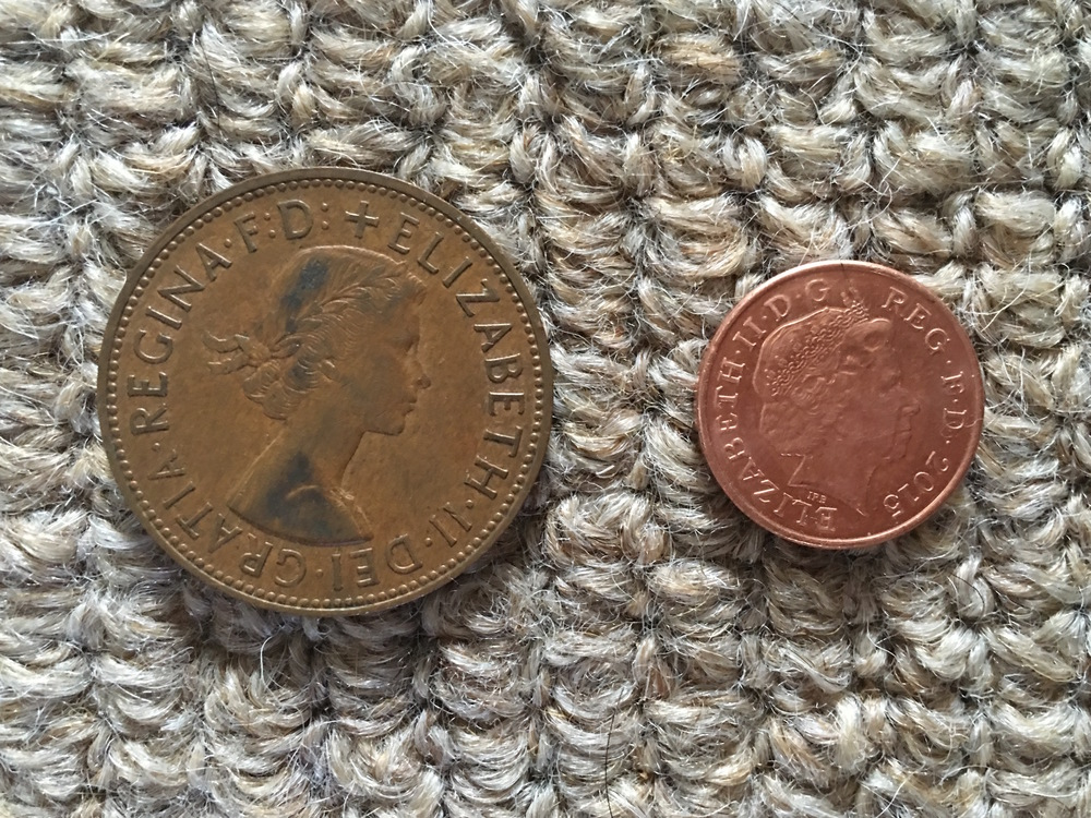 A tale of two pennies, and two portraits of our Queen - 1965 and 2015