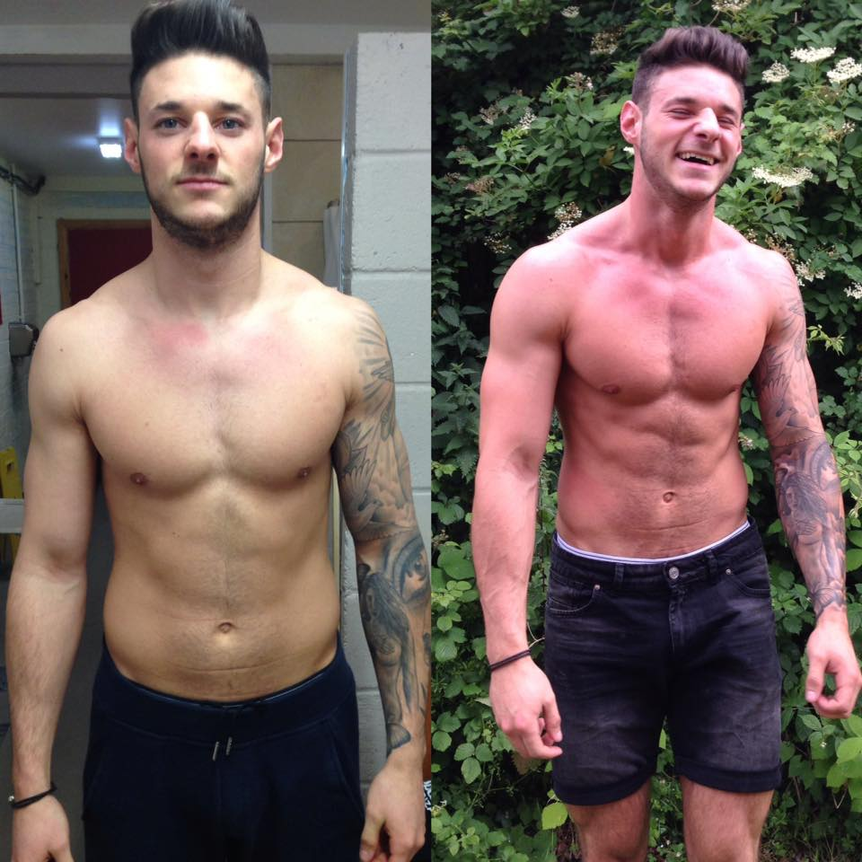 """While training with alex he put more structure into my training plan, along with a diet plan to fit my daily needs, In order to grown and stay lean.  Pushing me to my limit to increase my size and strength and improving my fitness.""   - Sam Stones"