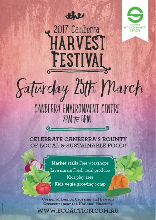 The Environment Centre will be cooking gourmet, organic food made entirely from local produce while local producers showcase their harvest, and community organisations conduct FREE sustainable living workshops. We'll have plenty of live music to keep you entertained and our Locals Bar is back, showcasing some of Canberra's delicious local tipples.