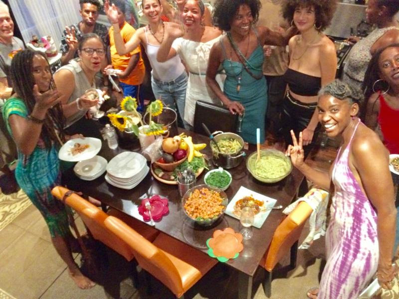 - On the last Thursday of every month, come celebrate health and community! Bring your best vegan dish to this potluck style dinner.Join the Urban Yoga Foundation as we share good food and good music, creating community at our Harlem studio.