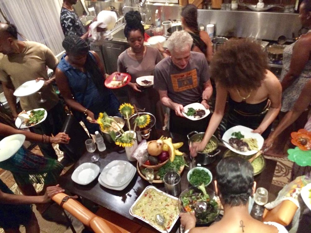 - Come break bread at our last vegan share in our Harlem brownstone as we close out another chapter at Urban Yoga Foundation. Creating space at a new table of thought.
