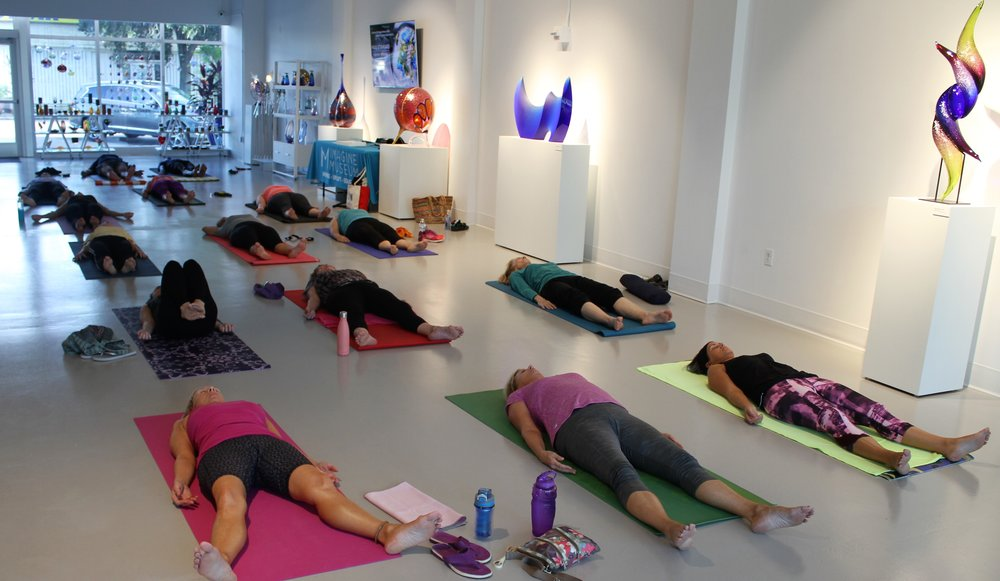 - Restore Mind, Body and Spirit with UYF Florida with an evening yoga class.