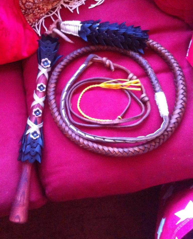 Hungarian bull whip , enormous fun!