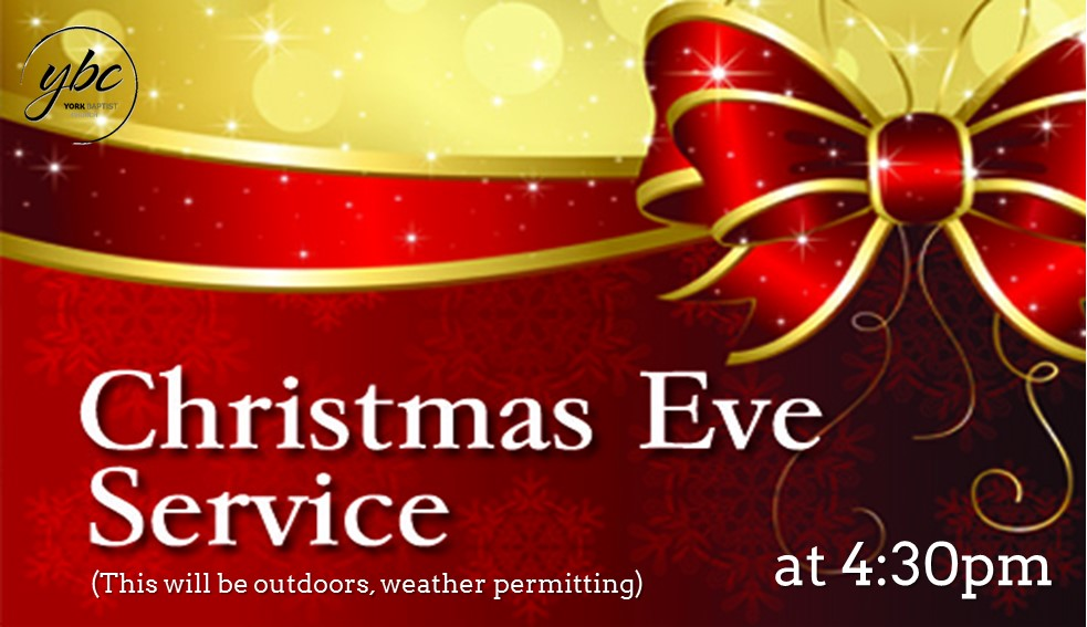 Join us for our Christmas Eve service and celebrate the birth of our Saviour in style.  Weather permitting we will be holding this short service outside the church building in our lantern lit car park. The service will be followed by seasonal refreshments. Why not prepare for Christmas day by joining us for this very special occasion.