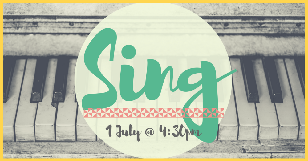 Tea and cake followed by singing some 'good old' hymns. Come along and choose your favourite as we enjoy singing together.  This event is open to everyone of all ages - we'd love to see you there!