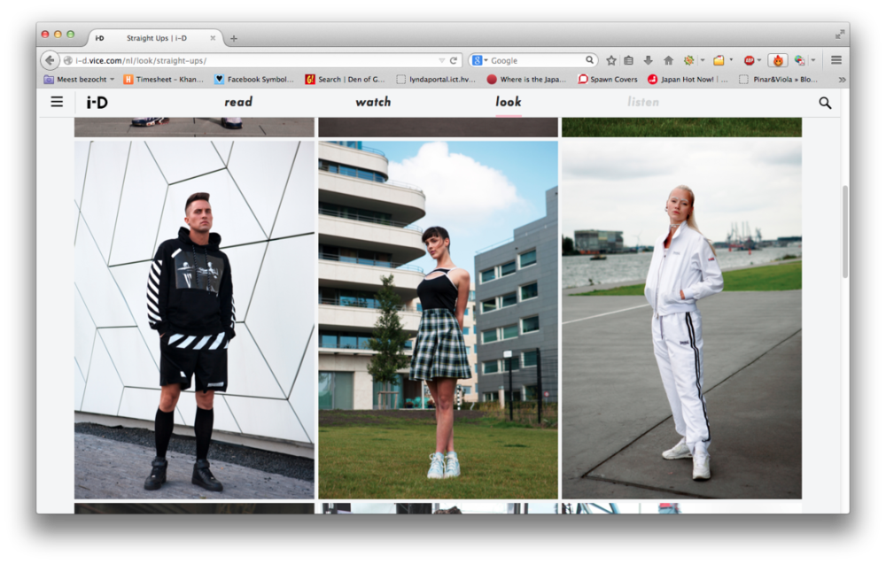 The straight ups I shot for i-D Magazine are now online. Click  here !