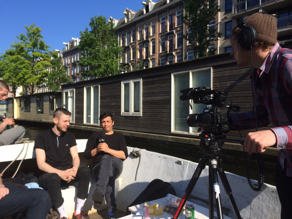 Yesterday I was interviewed by Ariel Wizman for  Canal + . Soon on your local Canal + channel.
