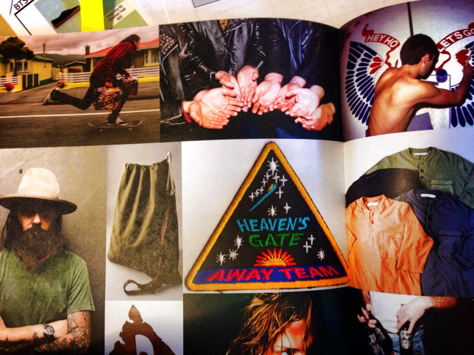I'm happy to see one of my photo's made it into the Urban Outfitters Fall 2014 concept book (the hands).