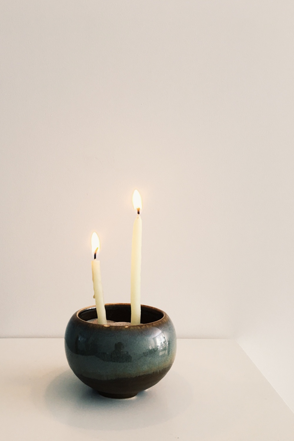 Incense bowl shoyeido, burninglights prayer candle