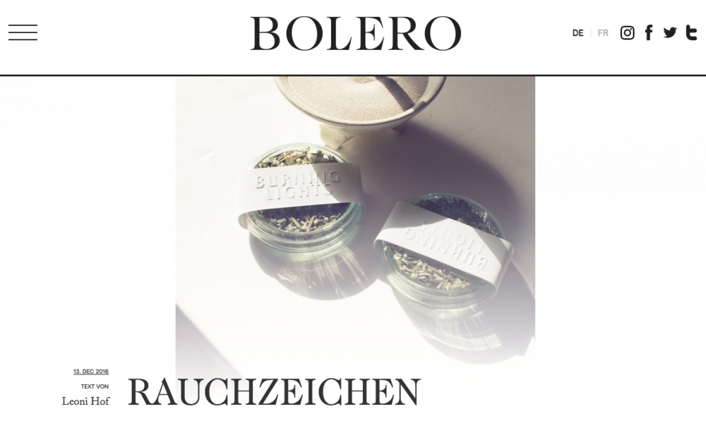 bolero burninglights