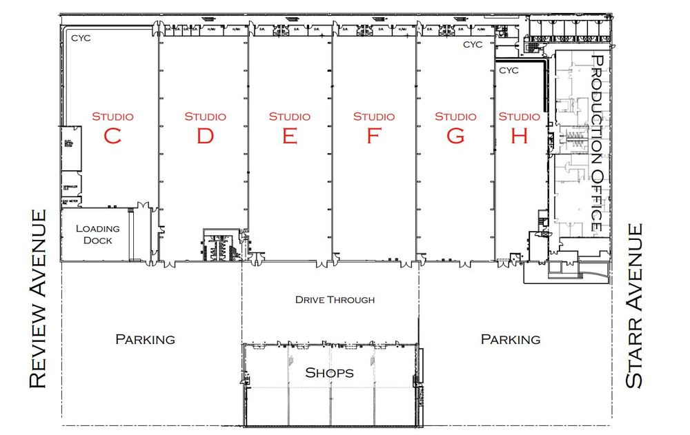 The information in these floor plans is subject to change. Silvercup Studios is not responsible for any errors or omissions