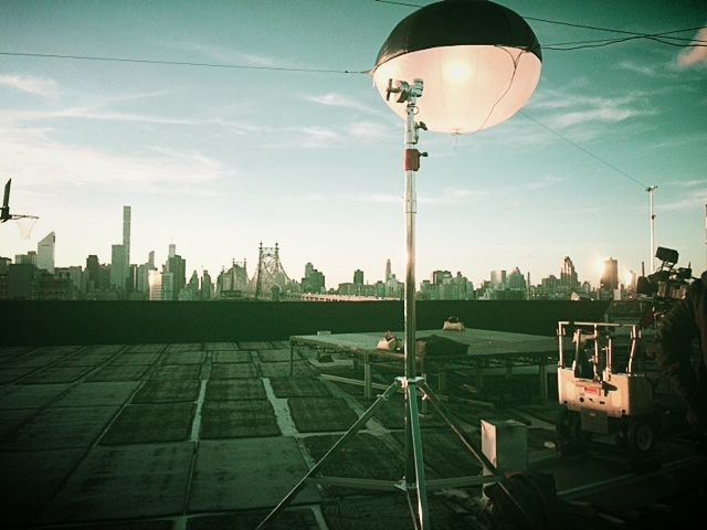 Manhattan skyline from Silvercup Roof
