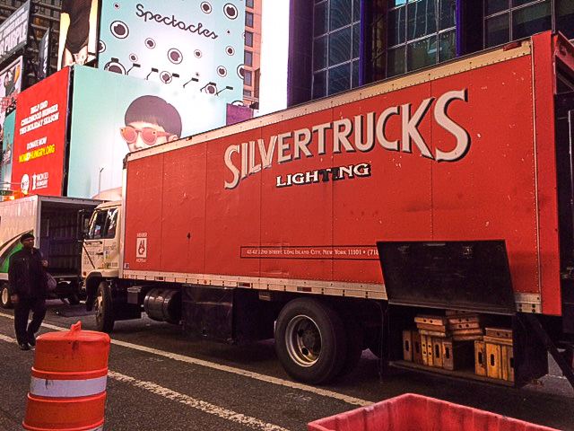 Silvertrucks @Timesquare