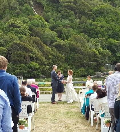 Catherine and Liam, Zealandia, Wellington February 2016