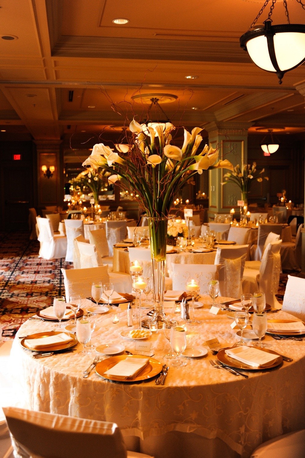 Adam and Leticia's reception venue, Hotel Icon, Houston