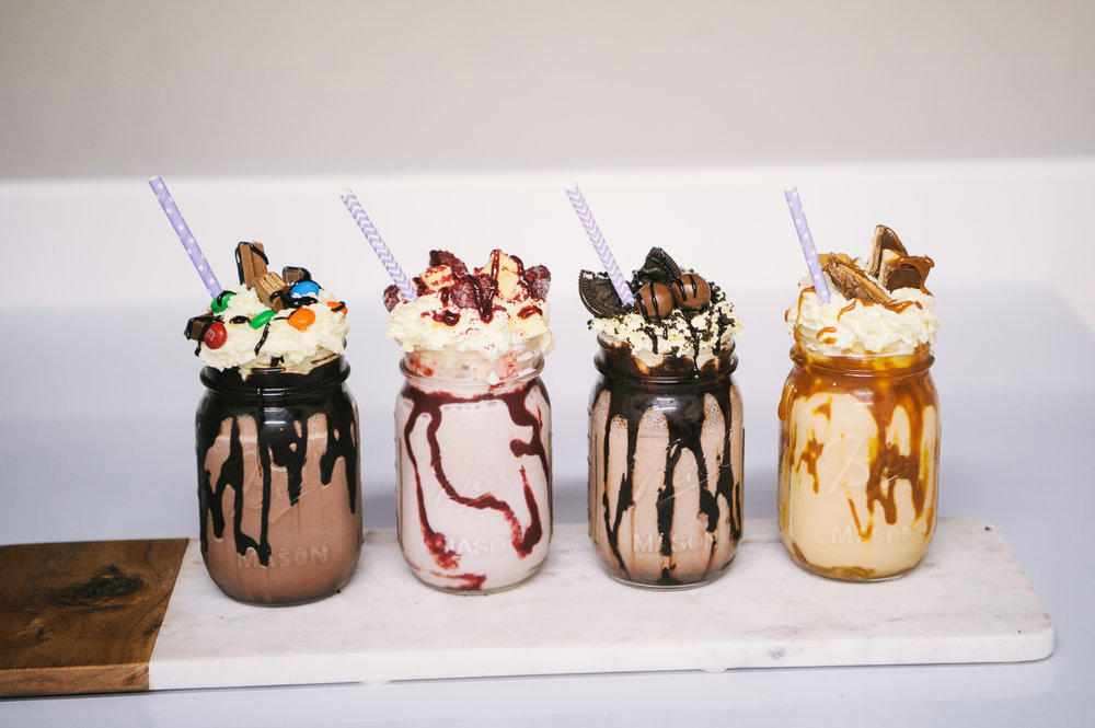 Much more suitable!  Milkshakes - With thanks to Grace and her team at Sweet Bakery, Wellington Yummm!    www.sweetbakery.co.nz