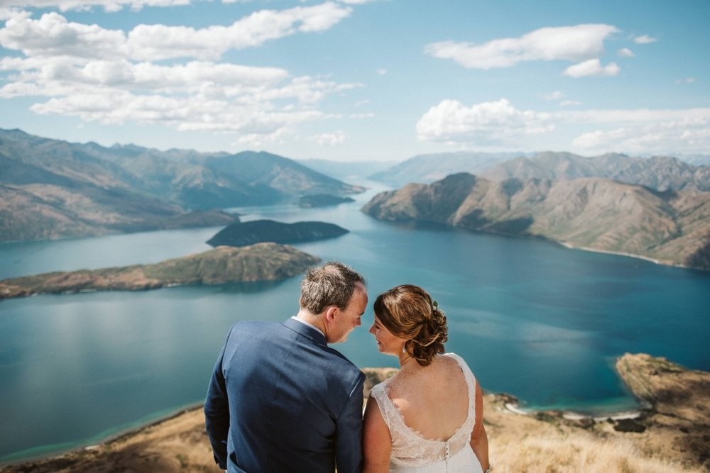 Vows - your personal commitment to each other.  Karla and Lee captured in Wanaka by Andy Brown.