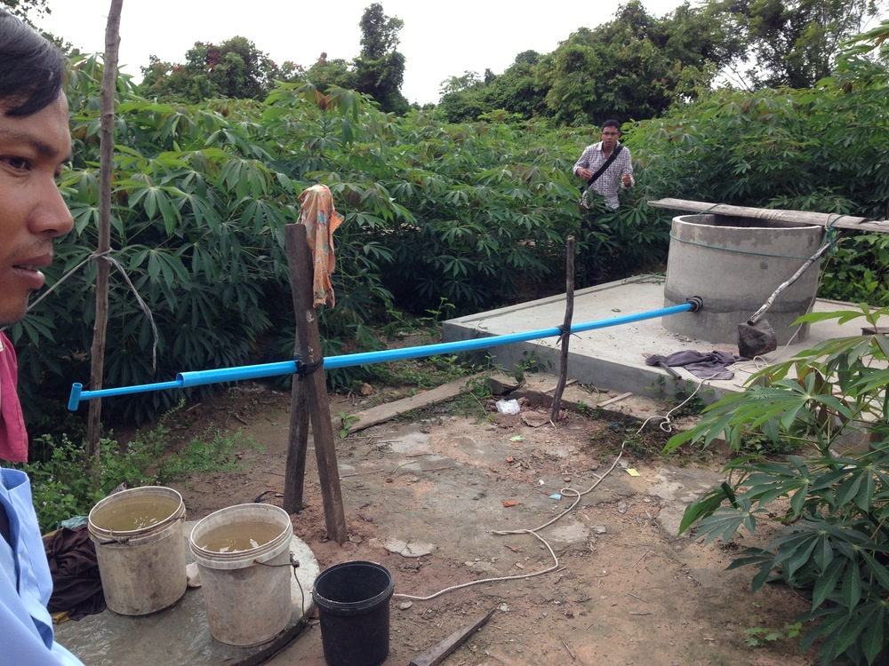 Providing wells for clean water makes an immediate impact on the health of the community.