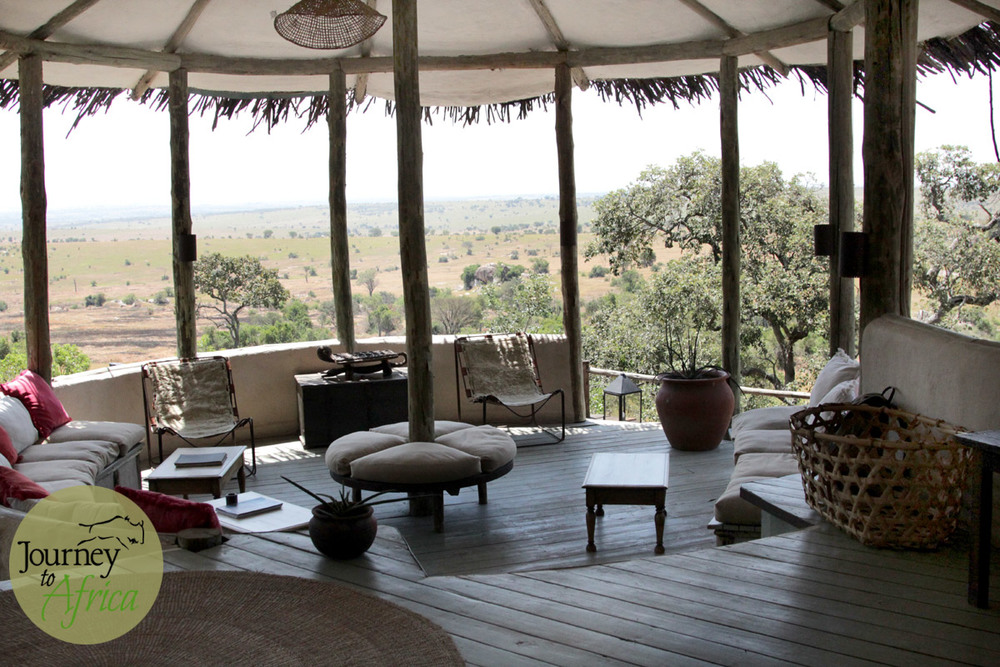 The stunning view of Serengeti from Lamai Serengeti.