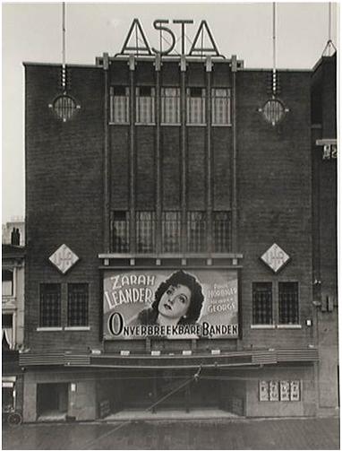 foto van de gevel van het oorspronkelijke theater