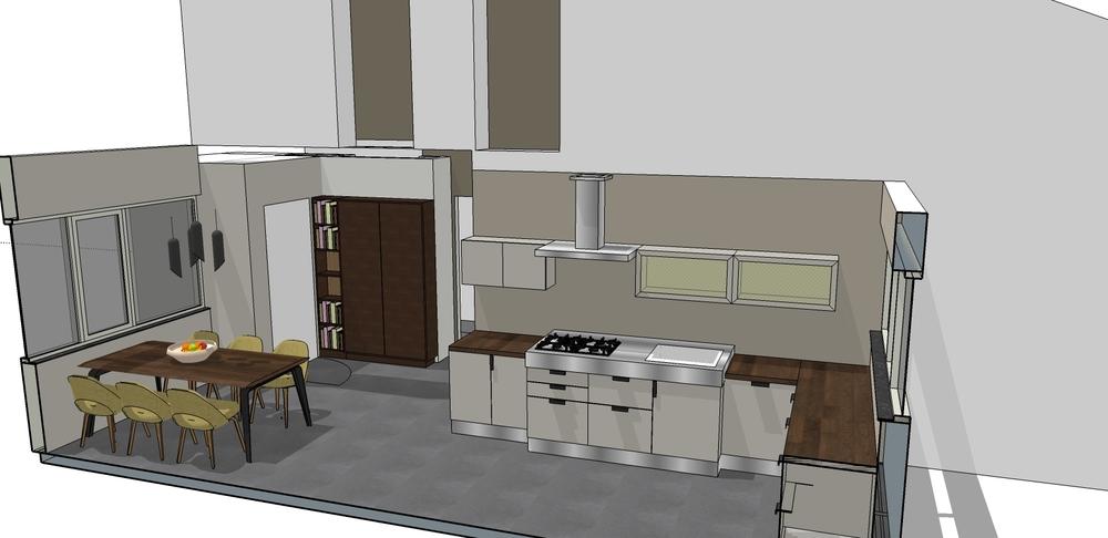 Interieurarchitect studio buijs splitlevel woning interieuradvies den haag studio - Meubels studio keuken ...
