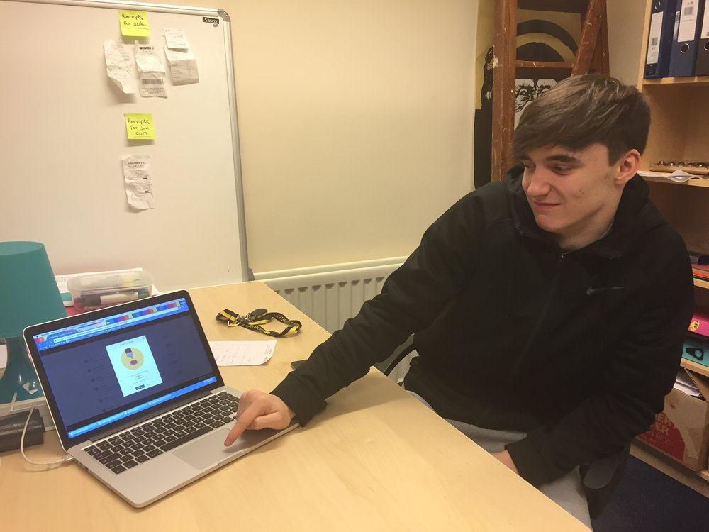 Bradley helped build our January e-newsletter