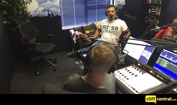 GARETH CLIFF SHOW RADIO INTERVIEW
