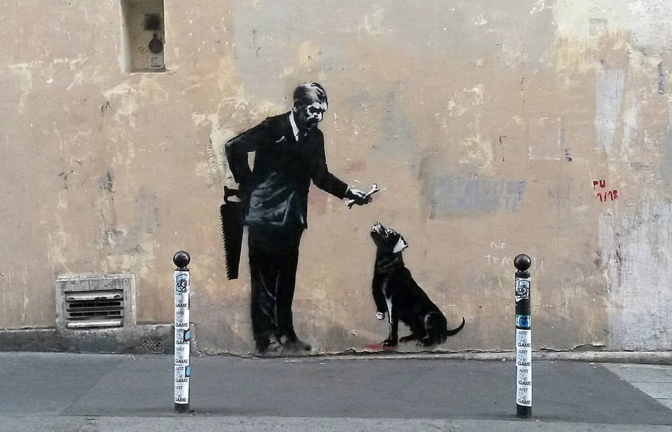 Photo courtesy of @banksy on Instagram