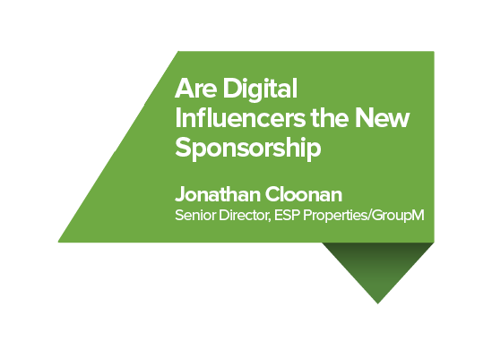 are digital influencers the new sponsorship