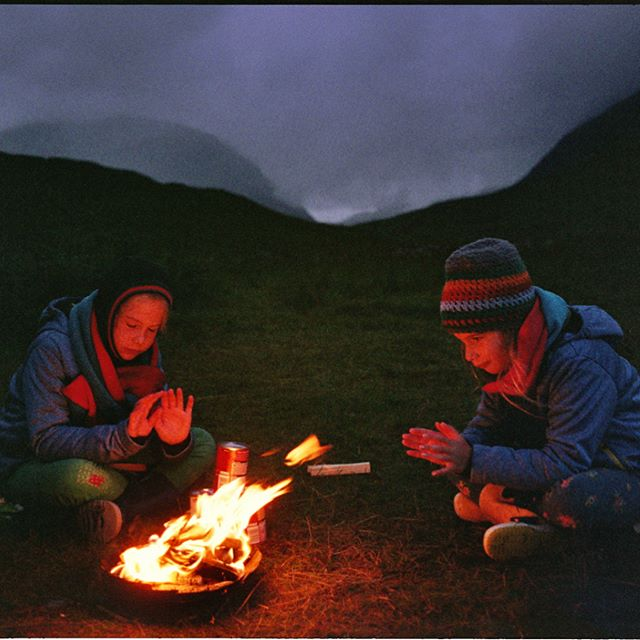 We received the loveliest email from Eva Peeters in Belgium who picked up a copy of Wild Guide Scotland at Glastonbury this summer and has since visited the Scottish highlands twice with her family, and the book 📘. She sent us these photos shot on her Dad's old Pentax of her girls camping in the northwest and running to explore the Bone Caves! Check out the rest of her work at www.gies.be Please continue sending & tagging us in your photos, we love seeing them. 🏕