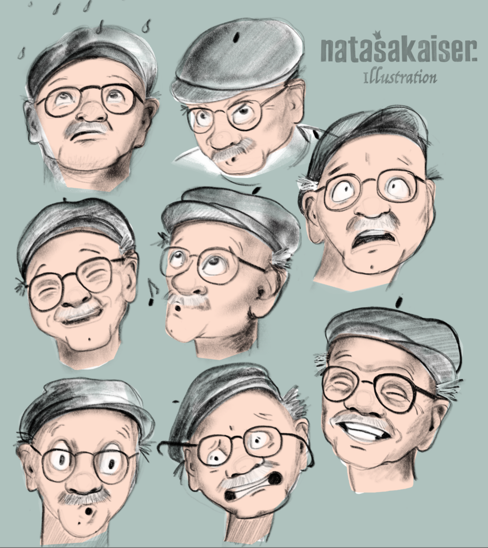 expressions old man