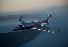 The Surf Air light business jet